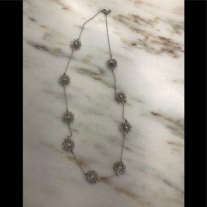 kate spade floral scatter necklace.